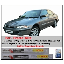 (Promotion)Genuine Bosch (BE18+BE20)Proton Wira Wiper Blades