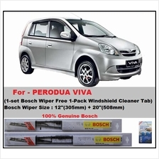 (Promotion)Genuine Bosch (BE12+BE20)Perodua Viva Wiper Blades