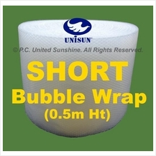 SHORT BUBBLE WRAP 0.5m x 100m Half Height ONLINE PROMO Plastic Packing
