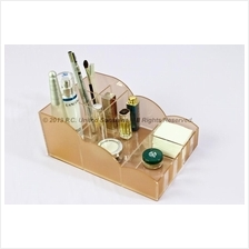 COSMETIC MAKEUP ORGANIZER by Melody Flair CO-01 Peach Cloud Stripes
