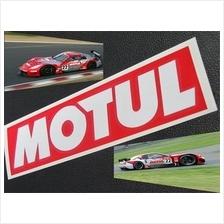 Motul Quality Reflective Stickers X 1