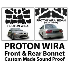 PROTON WIRA SEDAN CARFIT Made Front and Rear Bonnet Sound Proof