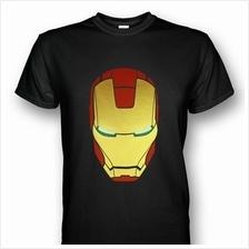 Iron Man Helmet Mark III T-shirt Black