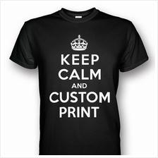 KEEP CALM Customized T-shirt Black