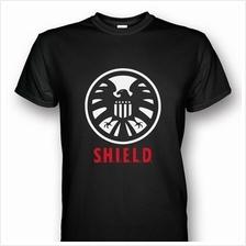 S.H.I.E.L.D White/Red T-shirt