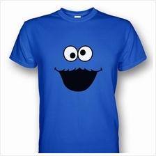 Sesame Street Cookie Monster Blue T-shirt