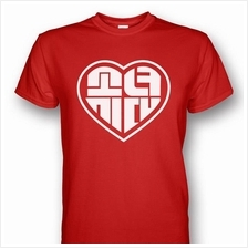 SNSD Girls' Generation Heart Logo T-shirt