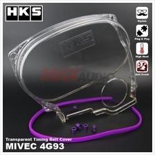 MITSUBISHI MIVEC GSR 4G93 HKS Transparent Timing Belt Cover