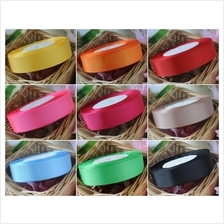 1 inch (25mm) Grosgrain Ribbon 25 yards - Pick your colour