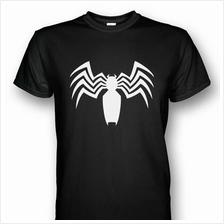 Spiderman Venom Symbol T-shirt White Print