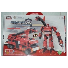 Ultimate Autobots Series NO.81002 Universe Robot Fire Fighters (T021)
