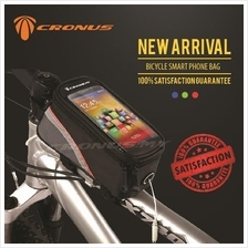 [CRONUS.MY] L SIZE BICYCLE TOP TUBE SMARTPHONE FRAME BAG
