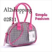 pu leather handbag shoulder bag 02811