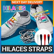 Hilaces Laceless Shoe Fasteners 12 or 14 straps similar to Hickies)