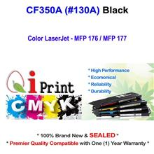Qi Print HP CF350A 130A MFP176 177 BLACK Toner Compatible *Sealed *