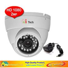 Qi Tech CCTV IR Dome Camera 1/3' HD 1080P 2MP  AHD TVi CVi Analogue
