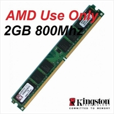 2GB Kingston Desktop PC DDR2 RAM 800Mhz PC-6400 KVR800D2N6/2G for AMD