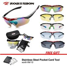 [Free Gift] Robesbon Polarized Sunglasses with 5 Changeable Lenses