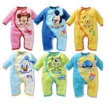 Disney Cartoon Baby Rompers