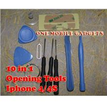 10 in 1 MINI Apple Iphone 5 5S 4 4S 3GS 3G Opening Repair Tools Kit