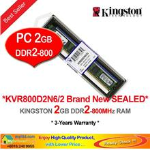 KINGSTON 2GB DDR2-800 DESKTOP PC RAM Memory (KVR800D2N6)