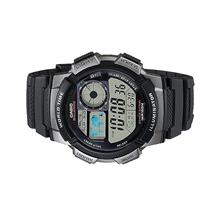 Casio Men World Time Digital Watch AE-1000W-1BVDF