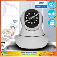 CCTV LED IR Dome Camera 1/3' Day & Night View - AHD 960P 1.3MP + Adp