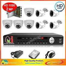CCTV Out Door IR Bullet Camera 1/3' Day & Night - AHD 960P 1.3MP + Adp