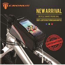 [CRONUS.MY] M SIZE BICYCLE TOP TUBE SMARTPHONE FRAME BAG