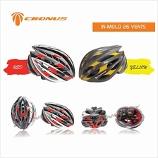 [CRONUS.MY] CRONUS IN-MOLD 26 VENTS ADULT BICYCLE BIKE SAFETY HELMENT
