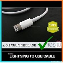 ORIGINAL APPLE LIGHTNING TO USB CABLE IPHONE 7/6/6S/5/5S IPAD AIR MINI