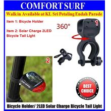 360° Rotatable Bicycle Bike Torchlight Flashlight Holder Grip Clamp