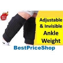 Adjustable & Invisible Ankle Weight - Best for Jogging Hiking Running
