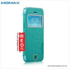 iPhone 5C Case Momax Flip View Book Flip Case for iPhone 5C - Mint