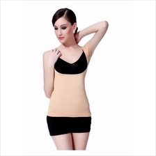 Compression Body Shaper Breast Enhancer Tummy Trimmer Vest