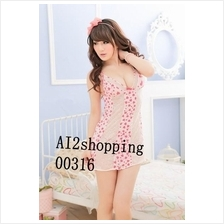 00316New Slim Sexy Leopard Lace Lingerie+SexyG-string