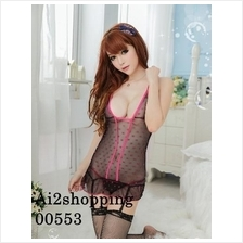 00553New exquisite taste vest straps pajamas+G-string(with gar