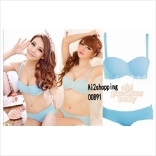00891Sweet ladies gather/styling body kit adjustable Bra underwear