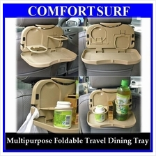 Car Travel Long Journey Food Drink Dining Tray + FREE GIFT