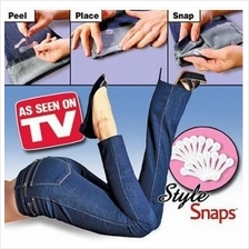 STYLE SNAPS hemming my way trouser pant belt pocket clip