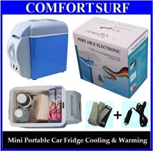Portable Electronic 6L/7.5L Car Fridge Refrigerator Cooling Warming