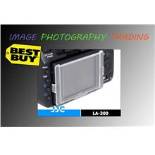 JJC LA-A300 replaces SONY ALPHA PCK-LH5AM LCD screen cover