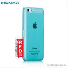 iPhone 5C Case Momax Transparent TPU hard case - Light Blue