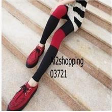 03721Korean mixed colors elastic the Bang Bang pants/leggings
