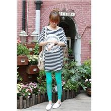 Korean Pants Panties Trouser Pants & Shorts01091-Dark Green