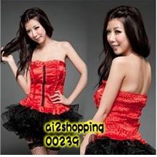 The new nightclub / Cars / lead dancer Puff skirt suit 00239
