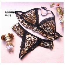 Wild sexy leopard fun Three - point (Brown)01414
