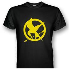 The Hunger Games Mockingjays T-shirt Yellow Print