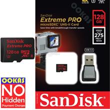 SANDISK EXTREME PRO UHS-II U3 Micro SD CARD 275MB/s 128GB 64GB Memory