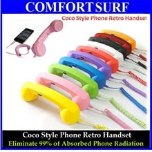 Mini & Large Coco Style Phone Retro Handset for iPhone Smartphone